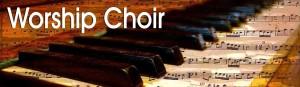 Worship Choir banner