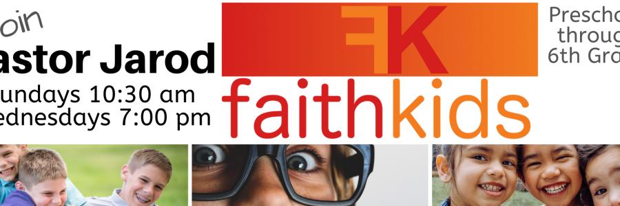 Faith Kids slider