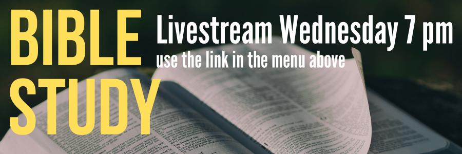Bible Study livestream