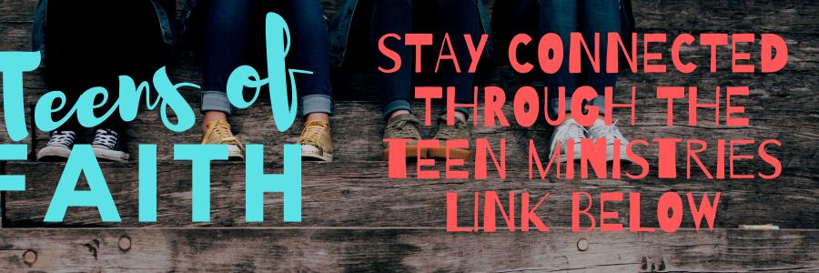 Teens of Faith – connected