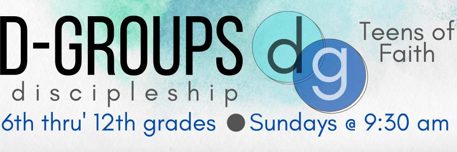 d groups slider